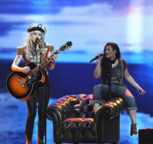 Eurovision semi-final: Denmark's Soluna Samay