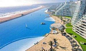 San Alfonso del Mar seaside resort