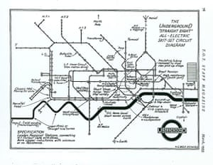 Mind the Map: H C Beck's spoof map diagram