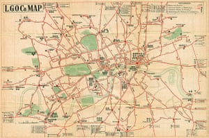 Mind the Map: Pocket bus map, August 1914
