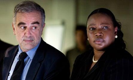 Luis Moreno Ocampo and Fatou Bensouda