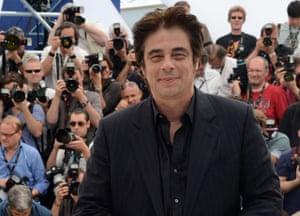 Cannes day 8: Benicio Del Toro