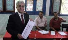 Egyptian presidential candidate Hamdeen Sabahi