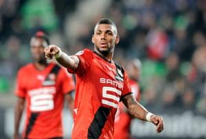 transfer targets: Rennes' French midfielder Yann M'Vila (C