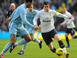 transfer targets2: Tottenham Hotspur's Welsh defender Gareth Bale