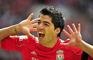 transfer targets2: Liverpool's Uruguayan striker Luis Suare