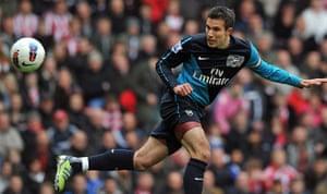 transfer targets2: Arsenal's Dutch striker Robin van Persie