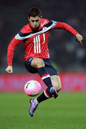 transfer targets2: Lille's french midfielder Eden Hazard co
