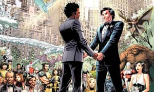 A Marvel X-Man has comics' first gay wedding as DC plans to out a