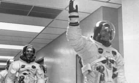 Apollo 11 crew: Neil Armstrong, Buzz Aldrin and Michael Collins