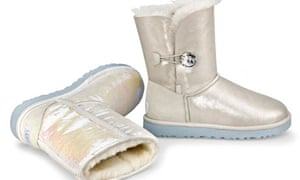 Ugg wedding boots: match with fleecy bridal gown?
