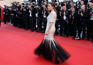 Cannes Day 8: Actress Bouchez