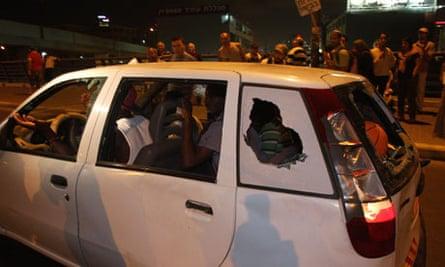African migrants, Tel Aviv