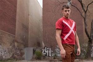 Berlin Fashion: Berlin Fashion: model posing in Berlin