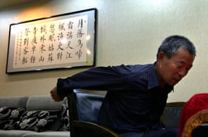 Picture Desk Live: Chen Guangfu, the eldest brother of blind Chinese activist Chen Guangcheng