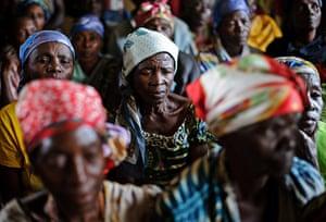 Picture Desk Live: Congolese women