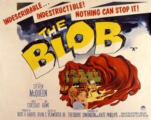 10 best: The Blob, film poster