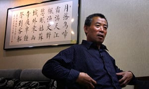 Chen Guangfu in Beijing after escaping tightened guard in his eastern China village