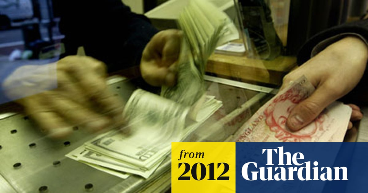 Foreign currency exchange rates hit by postcode lottery
