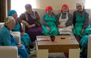 Picture Desk Live: Rural folk group Buranovskiye Babushki