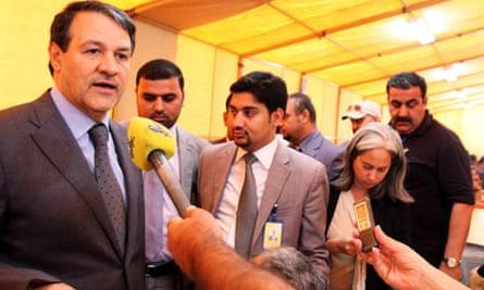 Baghdad talks on Iranian nuclear programme