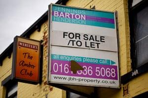 Recession along the A62: Recession along the A62 in north Manchester