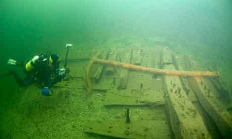 The wreck of the Gresham Ship