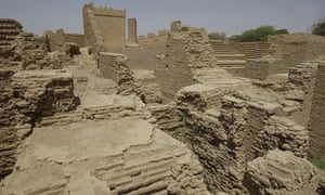 Babylon archaeological site