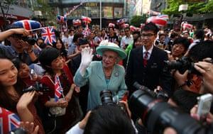 24 hours in pictures: Queen Elizabeth II Diamond Jubilee Celebration In Shanghai