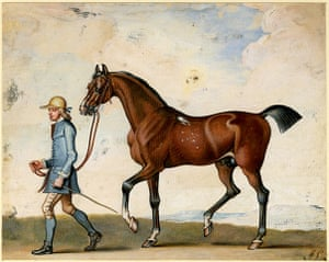 Horse: Flying Childers with a groom