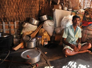 Hampi: Naga Raj, 26, whose family ran a restaurant in the Hampi bazaar