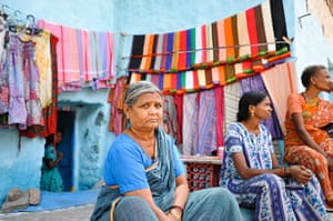 Hampi: Parwatama, 60, lives next to the Hampi bazaar