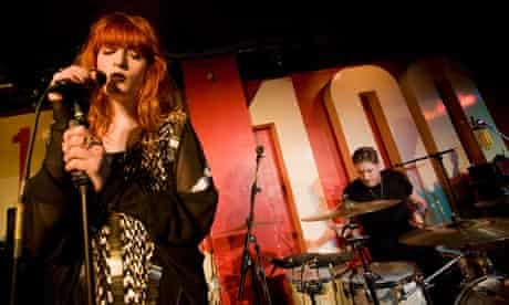 Florence and The Machine at the 100 Club