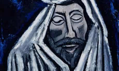<The Last Look of John Donne> by Marsden Hartley