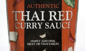 Bart authentic thai red curry sauce