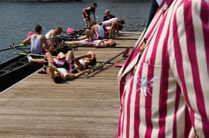 Great British Public: Henley Royal Regatta, Henley on Thames, Oxfordshire, England. PHOTO