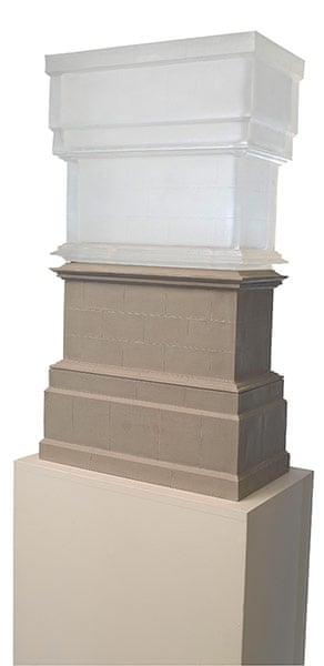 Stoutzker Gift to Tate: Maquette For Trafalgar Square Plinth by Rachel Whiteread