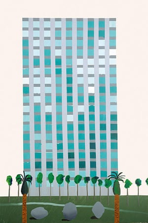 Stoutzker Gift to Tate: Savings and Loan Building by Hockney