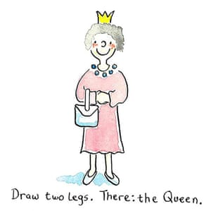 How To Draw... The Queen: How To Draw... The Queen 7