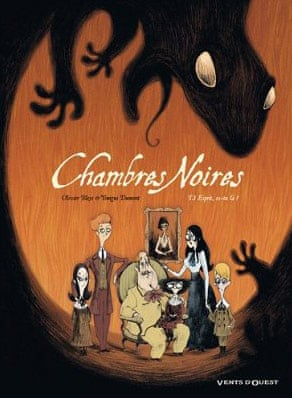 French books: Chambres Noires