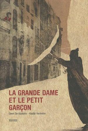 French books: La grande dame et le petit garcon