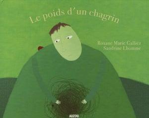 French books:  Le poids d'un chagrin