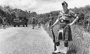 Scots Guards In Malaya