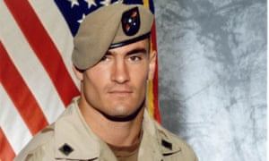 Former NFL player Pat Tillman, who was killed by friendly fire in Afghanistan in 2004