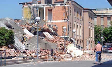 Modena earthquake, Italy