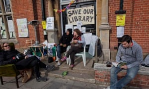 Kensal Rise library campaign, north London 2011