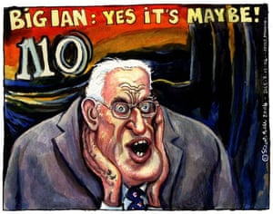 scream gallery: Guardian's Steve Bell uses The Scream as inspiration for caricatures