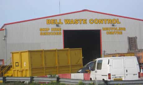 Dead baby found in Scunthorpe recycling plant
