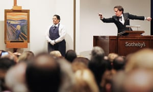 Edvard Munch's 'The Scream' is auctioned at Sotheby's in New York