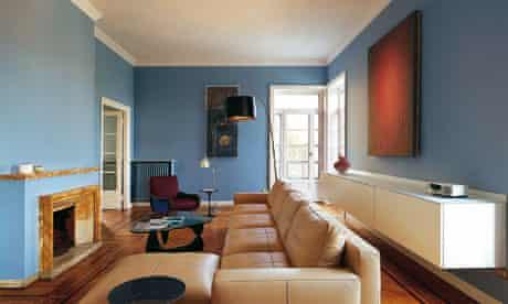 Milan apartment: living room